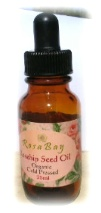 Organic cold pressed rosehip oil natural skin care